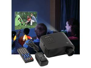 Mini 1080P HD Multimedia Home LED Projector Cinema Theater AV TV VGA HDMI