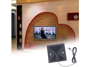 Thin Flat Signal Amplified HDTV Digital Indoor Antenna UHF VHF Analog Hot