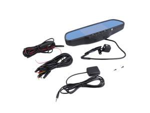 "5"" HD Rear View Mirror GPS WIFI Car DVR Dual Camera Recorder for Android"