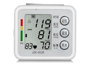 New Arm Cuff LCD Digital Wrist Blood Pressure Pulse Monitor Meter Measure