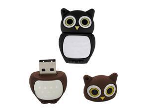 Cute Owl Design USB 2.0 Flash Disk Pen Drive Memory Stick 4GB-32GB U Disk