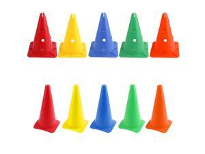 Training Sport Safety Traffic Marker Cone-Football Soccer Roller 5/10pcs