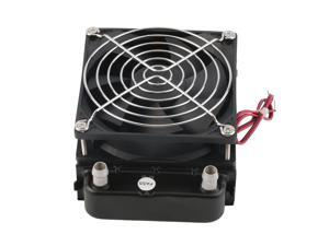USA STOCK 90mm Water Cooling CPU Cooler Row Heat Exchanger Radiator With Fan for PC