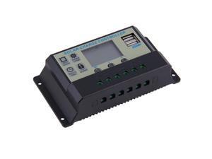 Solar Charge Controller 20A 12V/24V Battery Regulator Charger TX-20AL