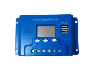 LED Screen Display 20A 48V TX-20BL48 Auto Switch Solar Charge Controller 2 USB Ports Easy Operating