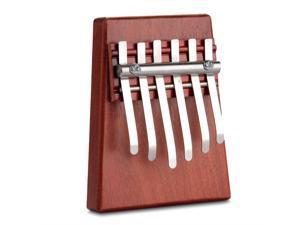 6 Key Kalimba Mbira Likembe Sanza Finger Thumb Piano Rosewood Musical New