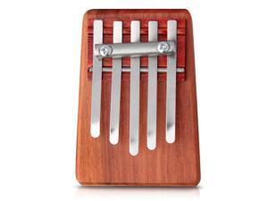 5 Keys Kalimba Mbira Likembe Sanza Finger Thumb Piano Rosewood Instrument