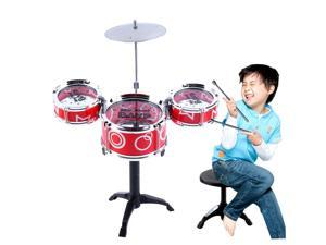 Children Kids Educational Toy Rock Drums Simulation Musical Instruments