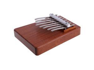 8 Keys Kalimba Mbira Likembe Sanza Finger Thumb Piano Rosewood Instrument