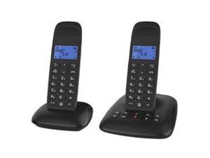 DECT 6.0 Digital Cordless Double Handset Phone with Answering System