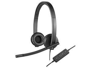 LOGITECH - COMPUTER ACCESSORIES 981-000574 H570E USB STEREO HEADSET