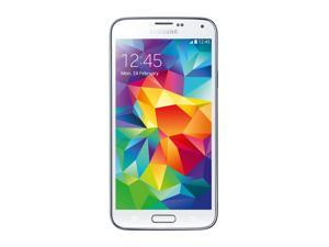 Samsung Galaxy S5 Boost Mobile LTE Android Cell Phone 16 GB (Shimmery White)
