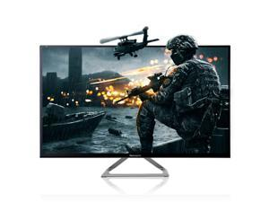 "NEWSYNC X32 Real 144Hz SONICBOOM 32"" LED 1960x1080 (Crosshair Mode / Low Bluelight) 1ms HDMI DVI-D Tempered Glass Computer Monitor"