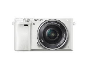 New SONY Alpha a6000 ILCE6000L Mirrorless Digital Camera w/ 16-50mm Lens *White