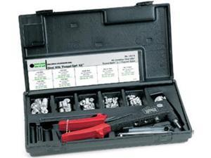 M39315, MARSON MANUAL TOOL, MARSON THREAD-SETTER TOOL KIT, RIBBED STYLE RIVET NUTS, 8/32, 10-24, 10-32 & 1/4-20,