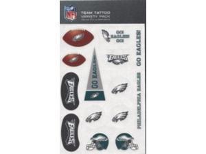 Philadelphia Eagles Variety Pack Tattoo Set