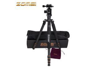 ZOMEI Z688C Carbon Fiber Portable Tripod with Ball Head for Nikon Canon DSLR Camera Camcorder