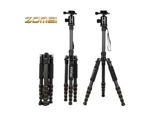 ZOMEI Z699C Carbon Fiber Portable Tripod with Monopod Ball Head for Nikon Canon DSLR Camera Camcorder