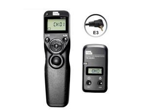 Pixel TW283 E3 Wireless Timer Remote Control Shutter Release with LCD Screen for Canon:PoweShot G10,G11,G15,G12,G1X,SX50,etc(Single,1S Continuous, Bulb,Delay,Timer Schedule Shooting )