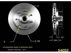 Bendix PRT5144 Disc Brake Rotor