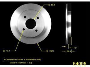 Bendix PRT5312 Disc Brake Rotor