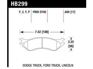 Hawk Performance HB299F650 Disc Brake Pad