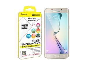 Amzer Kristal Tempered Glass HD Edge2Edge Clear Screen Protector for Samsung Galaxy S6 edge SM-G925F
