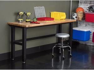 "TRINITY 72"" x 24"" Wood Top Work Table"