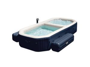 Intex Portable 4-Person Inflatable PureSpa Bubble Spa with Pool - 28491E