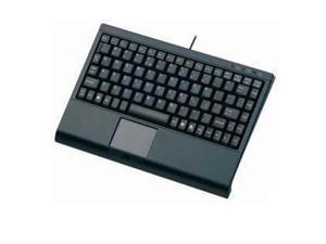 Solidtek Mini Keyboard With Touchpad Blk - KB-3910BL