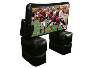 Sima XL-PRO84 7Ft Pop-Up Proj Screen Kit W/Projector Speaker & Carry Bag
