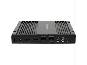 Aopen 91.DED01.A110 De3250S Intel Dual Core Cpu On-Board No Memory/Ssd/Operating System L Type Power Lock Brown Box