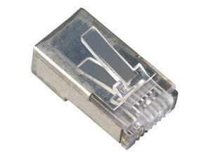 Black Box FM852-25PAK Box Cat. 5E Rj45 Shielded Modular Plug - Rj-45