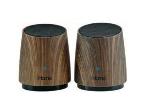 iHome Rechargeable Mini Speaker Wood - iHM89DC