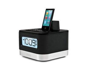 iHome Iphone Ipod Lightning Clock Bk - iPL8BN