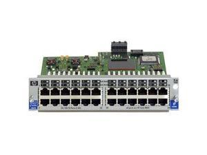 HP J4862B Procurve Switch Gl 10 By 100Basetx 24 Port Fast Ethernet Expansion Module