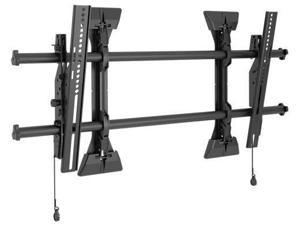 Chief LTM1U-G Large Fusion Micro-Adjustable Tilt Wall Mount - Mounting Kit For Lcd Display - Black - Screen Size: 37 Inch - 63 Inch - Wall-Mountable