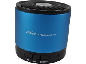 Worryfree Gadgets WFG-BTSPK-BLU Zeepad Speaker System - Wireless Speaker(S) - 32.8 Ft - Bluetooth - Usb - Ipod Supported