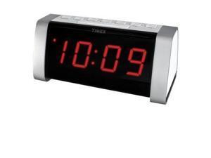 Timex T235WY Dual Alarm Clock Radio White