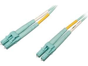 Tripp Lite N820-20M-OM4 Patch Cable - Lc Multi-Mode (M) - Lc Multi-Mode (M) - 65 Ft - Fiber Optic - 50 / 125 Micron - Om4 - Halogen-Free - Aqua