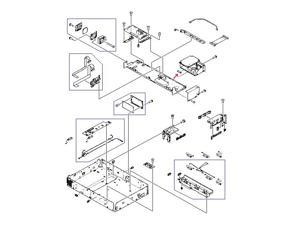 HP VD7-2895-001CN Fuse - 5A, 250 Vac - Mounts In The Flatbed Scanner Power Supply Assembly
