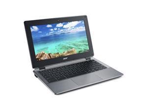 "Acer NX.GC1AA.002 Chromebook Intel Celeron N2840 (2.16 GHz) 4 GB Memory 16 GB eMMC SSD 11.6"" Chrome OS"