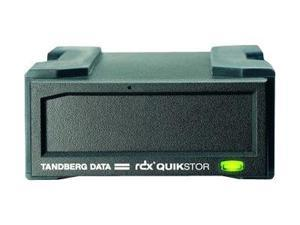 Tandberg 8789-RDX Rdx Quikstor Usb Powered - Disk Drive - Rdx - Superspeed Usb 3.0/Serial Ata - External - Black