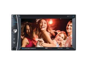 XO Vsion XOD1752BT In-Dash DVD/CD/MP3 Bluetooth Receiver with 6.2?Touchscreen TFT-LCD