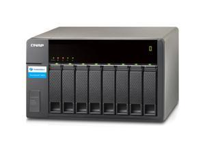 QNAP TX-800P-US Thunderbolt 2 Storage Expansion Encl 8Bay 2.5/3.5 Tvs871T Ser 2Port