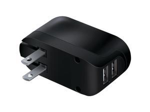 iSound ISOUND-6810 2.4-Amp Dual-Usb Ac Charger With Foldable Prongs