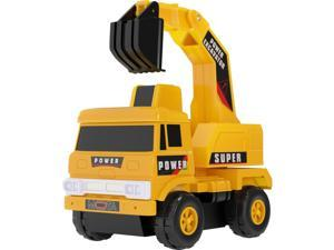 Mota MTTY-TT-1 Mini Toy Excavator Truck Yellow Construction Excavator