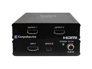 Comprehensive Cable CDA-HD200EK Hdmi 1 By 2 Splitter Uhd 4K2K 2 Year Warranty