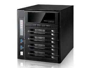 Thecus W4000 4-Bay Cloud Ready Windows NAS Powered by Intel Atom, 4GB Menory
