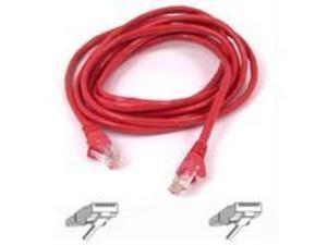 Belkin A3L791-25-RED Patch Cable - Rj-45 (M) To Rj-45 (M) - 25 Ft - Utp - Cat 5E - Red - For Omniview Smb 1X16, Smb 1X8, Omniview Smb Cat5 Kvm Switch